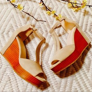 BCBGeneration wedged Shoes  8.5🌺🌺🌺